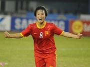 Selección vietnamita de fútbol femenino se acerca a Olímpicos