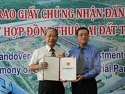 Inversión taiwanesa en construcción de planta de neumático en Dong Nai