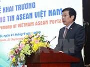 Estrenan portal informativo ASEAN Vietnam