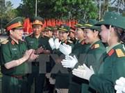 Inauguran curso de inglés para oficiales militares de Vietnam