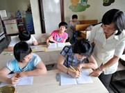 Asistencia internacional para niños discapacitados vietnamitas