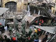 Hanoi: evacuadas decenas de personas por desplome de antigua villa