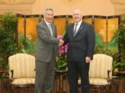 Fortalecen Australia y Singapur relaciones bilaterales