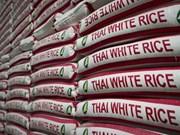 Disminuye exportación arrocera de Tailandia