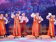 Celebran Festival cultural rusa en Hanoi