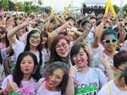 Color Run – Colorida carrera de jóvenes hanoyenses