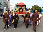 Desarrollan festival en honor a soberano marítimo en Vung Tau