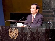 Ocupada agenda de presidente vietnamita al margen de Cumbre ONU