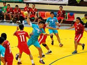 Gran triunfo de Vietnam en Torneo regional de Balonmano 2015