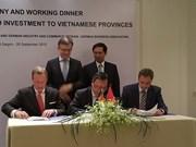 Localidades vietnamitas impulsan conexión con empresas alemanas