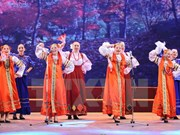Actuaciones de artistas rusos seducen a la audiencia vietnamita