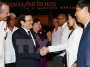 Presidente de Vietnam llega a Cuba en visita oficial