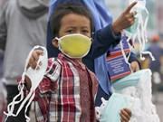 (Galería) Sudeste de Asia sufre contaminación por incendios forestales