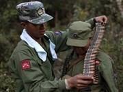 Fracasa negociación sobre acuerdo de cese el fuego en Myanmar