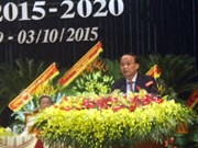 Dirigentes vietnamitas asisten a asambleas partidistas provinciales