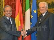 En buena marcha relaciones Vietnam- Italia