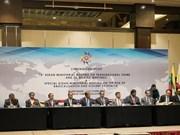Emite ASEAN declaración contra delincuencia trasnacional