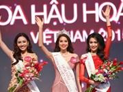 Pham Thi Huong gana Miss Universo Vietnam 2015