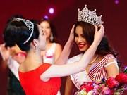 Belleza de Vietnam brilla en Miss Universo nacional 2015