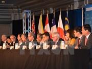 Hitos principales en itinerario de negociaciones del TPP
