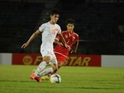 Vietnam ya en ronda final de Torneo asiático de futbol sub 19