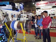Inauguran exposiciones de industria auxiliar en ciudad survietnamita
