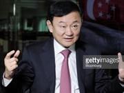 Orden de arresto contra ex- premier tailandés Thaksin Shinawatra