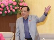 Comité del Parlamento vietnamita analiza proyectos legales
