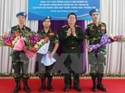Promueve Vietnam formación de oficiales a operaciones de paz