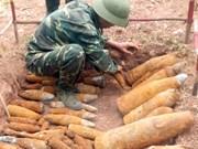 EE.UU. respalda Quang Tri superar consecuencias de bombas