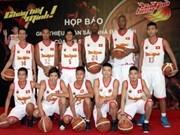 Club vietnamita participará en torneo regional de baloncesto