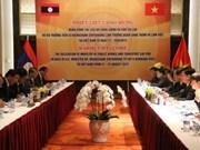 Vietnam y Laos promueven cooperación judicial