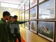 Exponen objetos sobre Hoang Sa y Truong Sa en Dien Bien