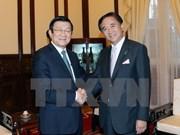 Presidente recibe a gobernador de prefectura japonesa de Kanagawa