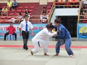 Inauguran torneo internacional de judo en Ciudad Ho Chi Minh