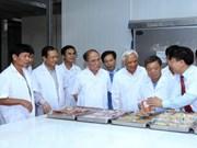 Patentizan respaldo de Parlamento a desarrollo de proyectos en Ha Tinh