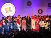 Intercambia Vietnam experiencias en elevar posición de mujeres