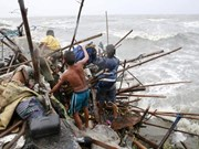 Dos muertos y cuatro heridos causa tifón Koppu en Filipinas