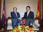 Efectúan 14 reunión de Comité Mixto de Vietnam- Cambodia