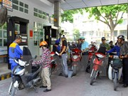 Ligera caída de cotización de gasolina