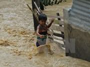 Elevan a 16 los muertos por el tifón Koppu en Filipinas