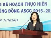 Diseña Vietnam plan para cumplir objetivos de comunidad sociocultural