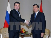 Presidente vietnamita recibe a gobernador de Moscú