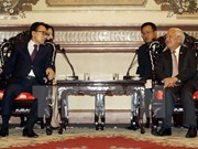 Expresidente sudcoreano Lee Myung Bak visita Ciudad Ho Chi Minh