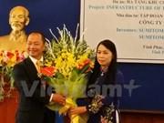 Grupo japonés Sumitomo construirá parque industrial en Vinh Phuc