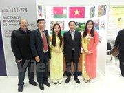 Vietnam participa en feria internacional en Belarús