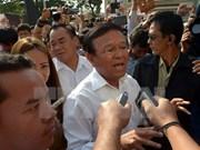 Cambodia: Protestas exigen destitución de subtitular del Parlamento