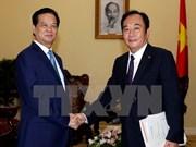 Vietnam reafirma fomento de nexos con Japón