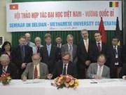 Vietnam y Bélgica fomentan cooperación educativa