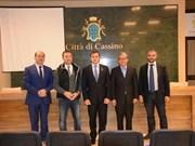 Vietnam fomenta cooperación con localidad italiana
